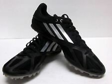 ADIDAS SPIDER IV BLACK MESH SPRINT RUNNING TRACK SPIKES SHOES Q22633 MEN'S (10)