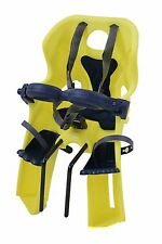 BELLELLI BIKE BICYCLE CHILD SEAT FRONT MOUNTING FRONT FACING YELLOW MAX 15kg