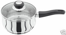 Judge Vista Stainless Steel Induction 16cm Saucepan JJ05