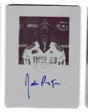 Jordan Payton 2012 Leaf Metal Draft Autograph QC MAGENTA PRINTING PLATE AUTO /1