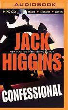 Jack Higgins CONFESSIONAL Unabridged MP3-CD *NEW* FAST 1st Class Ship!