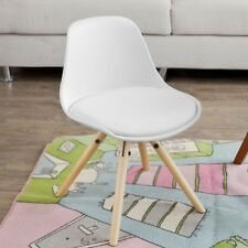 SoBuy® Lovely Kids Children Chair Stool, PP/PU Leather, White,FST46-W,UK