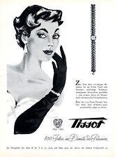 Orologio svizzero TISSOT LE LOCLE XL insegne 1953 100 ANNI GIUBILEO SVIZZERA Pubblicità