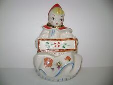 Hull Pottery Little Red Riding Hood Wall Hanging Planter