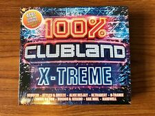 100% Clubland X-Treme (CD) Brand NEW Sealed