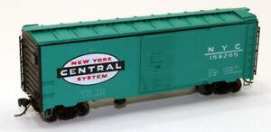 "Intermountain 10'-6"" Modified AAR 40' Box Car New York Central 159265 HO"