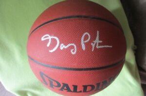 GARY PAYTONAutographed NBASPALDING Basketball W/COA