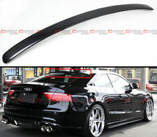 FOR 2009-16 AUDI A5/A5 Quattro B8 VIP CARBON FIBER REAR ROOF WINDOW SPOILER WING