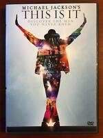 Michael Jacksons This Is It (DVD, 2009) - E0331