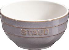 Staub ceramica 6 Set Ciotola frutta MESCOLANZA, TONDO GRIGIO ANTICATO