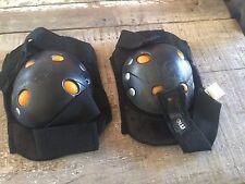 Kids Kneee Pads Adult S One Size Mongoose Black Used Set Skateboard Bike Safety