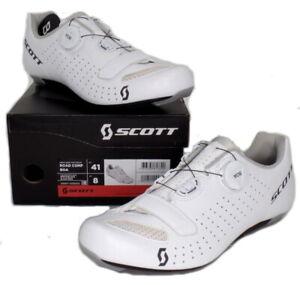 Scott Road Comp Boa Bike Cycling Shoes White Men's Size 41 US / 8 EU