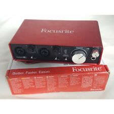 Focusrite Scarlett 2i2 G2 MKii 24/192 2 in/2 out USB Audio Interface