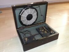 More details for very rare early edwardian crystal radio in original mahogany box c1910
