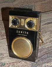 "Zenith Royal 500 ""Owl"" Transistor Radio, 1950's - Works, Cosmetically Excellent"