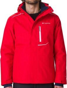 COLUMBIA Ride On WO0848614 Waterproof Insulated Ski Snowboard Jacket Hooded Mens