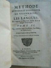Jusqu'au XVIIème siècle
