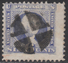 MOstamps - 1869 US Scott # 115 Used 6c Pictorial - G Grill- Lot # MO-59 SCV $225