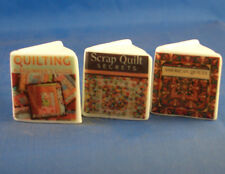 Birchcroft Thimbles -- Miniature Book Style  - Quilting