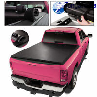 6ft Bed Soft Roll-Up Tonneau Cover LR-5050 Fits For 2016-2020 Tacoma Toyota