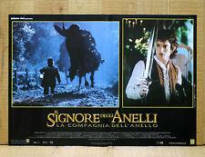 IL SIGNORE DEGLI ANELLI COMPAGNIA DELL'ANELLO fotobusta poster Lord Of Ring X15