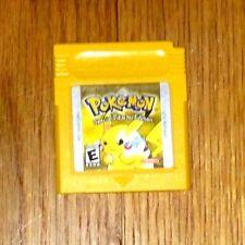 Rare Pokémon: Yellow Version -- Special Pikachu Edition (1999) Battery Works!