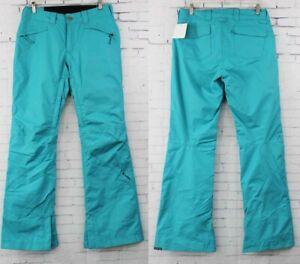 Bonfire Emerald Ski and Snowboard Pants, Women's Medium, Lake Blue New