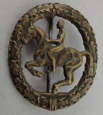Reiterabzeichen bronze Steinhauer & Lück Lüdenscheid