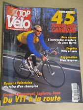 TOP VELO N°49: AVRIL 2001: JEAN NUTTLI - 45 FOURCHES CARBONE - VAINSTEINS ROMANS