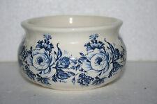 Canadian Art Pottery Handcraft Earthen Ware Floral Bowl Dish Planter Jacquelynes