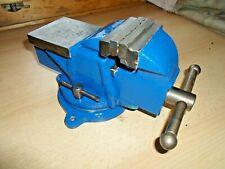 Schraubstock Drehbar 360°  BB 75 mm. SW 80 mm. Gewicht 6 kg. Tisch Schraubstock