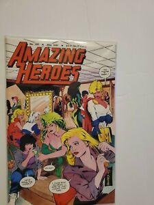 AMAZING HEROES #190 FN 1991 ADAM HUGHES COVER POWER GIRL (BEAUTIFUL COPY)