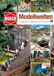 "Busch 999814 Craft Magazine "" Model World 4 Wildpark,Water,Industry # New Boxed"
