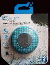 Aduro Aquasound Wireless Waterproof Shower Bluetooth Portable Speaker Cabana-NEW