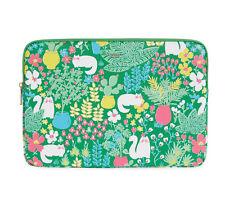 Kate Spade Garden Universal Verona Green Laptop Sleeve NWT!
