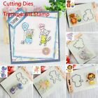 Clear Stamps + Metal Cutting Dies Stencil Scrapbooking Embossing Mold DIY Crafts