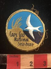 Vtg CAPE COD NATIONAL SEASHORE Massachusetts Embroidered Cloth Patch 93AD