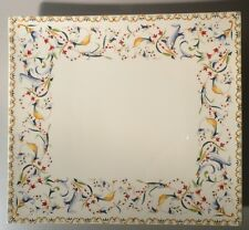 NEW Rectangular Platter Toscana Pattern GIEN New
