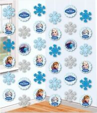30ft x Frozen Anna Elsa Snowflakes Birthday Party Hanging String Decorations
