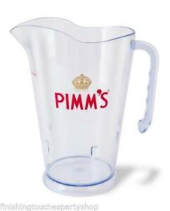 Official Pimm's  Jugs*  Glass Stirrers Paper Cups -choose from drop down box