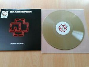 Rammstein - Herzeleid Demo GOLD Vinyl LP Nr.180 von 300 ltd.Edition