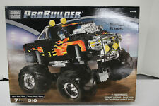 Mega Bloks ProBuilder Monster Truck #9749 510 Pieces Pro Builder BRAND NEW