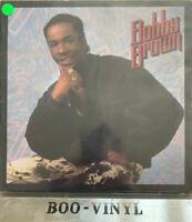 BOBBY BROWN KING OF STAGE ALBUM MCA Hip Hop RnB/Swing 1986 Debut Lp