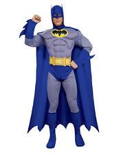 """BATMAN Uomini Batman coraggioso Grassetto Muscolo Costume, M, circonferenza petto 38-40"""", girovita 30-34"""", gamba 33"""""""