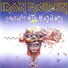 """IRON MAIDEN - Can I Play With Madness - 2014 UK limited edition of the 1988 7"""""""