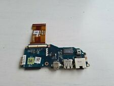 dell latitude e4200 laptop usb port board / carte usb cable original