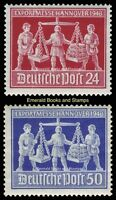 EBS Germany 1948 Allied Occupation Hannover Export Fair Michel 969-970 MNH**