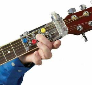 Unterrichtshilfe Für Konzertgitarre Gitarren Lernhilfe Akkord Buddy Anti Schmerz