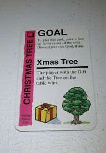 XMas Tree Promo Card for use in Family Fluxx