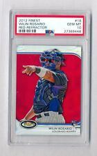 WILIN ROSARION 2012 TOPPS FINEST RED REFRACTOR ROOKIE RC #10/25 PSA 10 GEM MINT